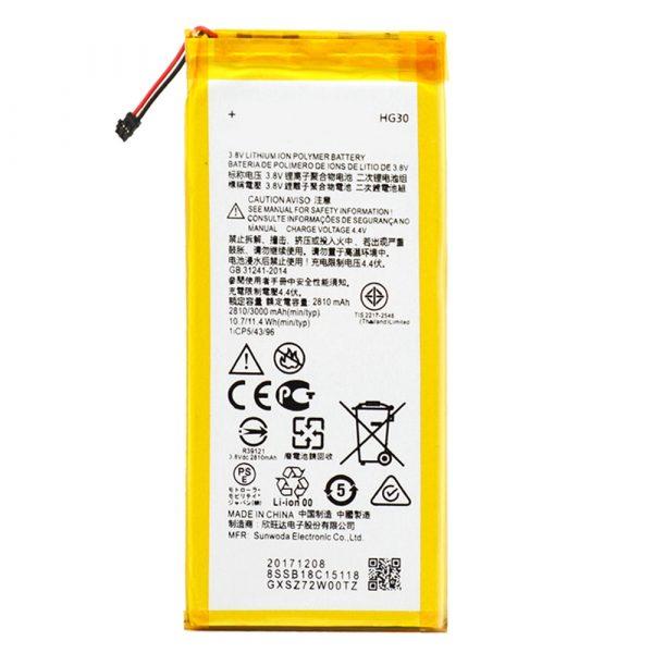 Batería HG30 para Motorola Moto G5s / Moto G5s Plus / Moto G6