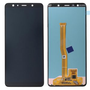 Pantalla completa Original para Samsung Galaxy A7 2018 ( A750 ) Negro – Service Pack