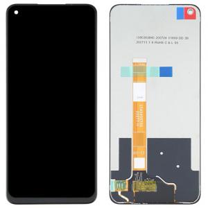 Pantalla display completa sin marco para Oppo A74 5G - Negro