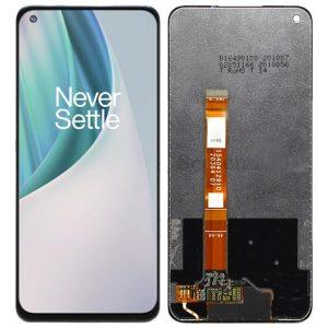Pantalla display sin marco para OnePlus Nord N10 5G - Negro