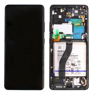 Pieza de repuesto pantalla display completa para Samsung Galaxy S21 Ultra 5G G998B.