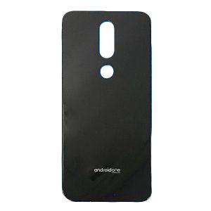 Tapa trasera para Nokia 7.1 2018 N7.1 - Negro