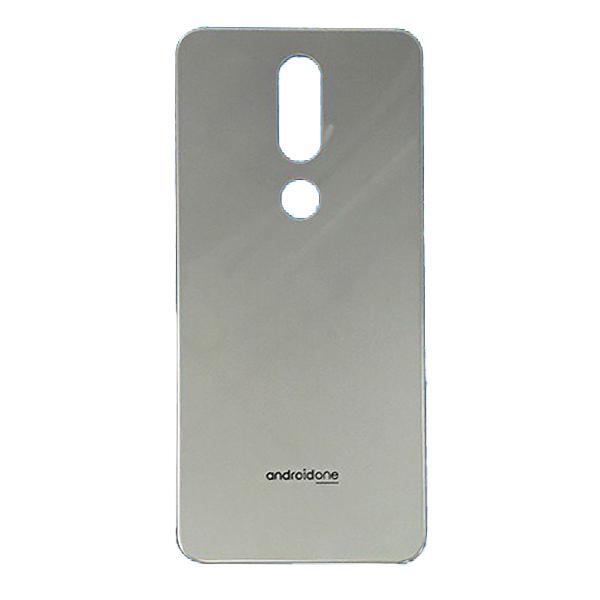 Tapa trasera para Nokia 7.1 2018 N7.1 - Plata