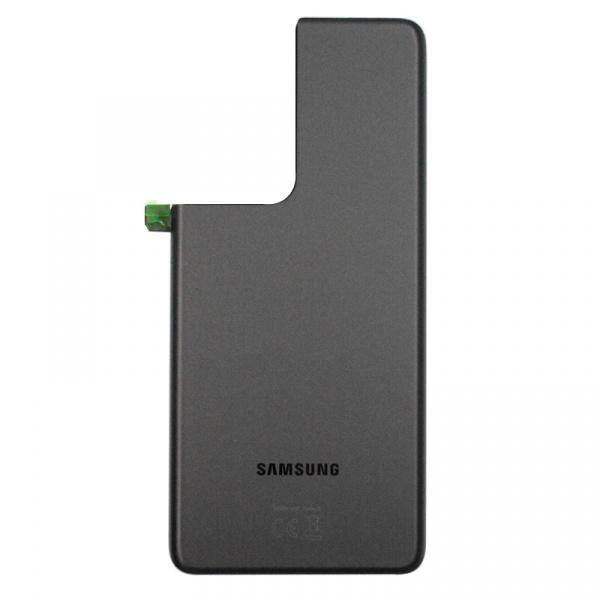 Tapa trasera para Samsung Galaxy S21 Ultra 5G G998B - Negro