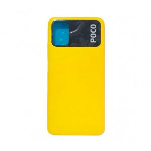 Repuesto-tapa-trasera-color-amarillo paraXiaomi-Poco-M3