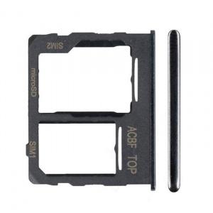 Bandeja de tarjeta sim y micro sd para Samsung Galaxy A32 5G (2021) SM-A326B - Negro