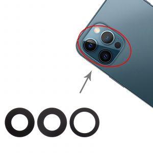 Cristales lentes de cámara trasera para iPhone 12 Pro Max