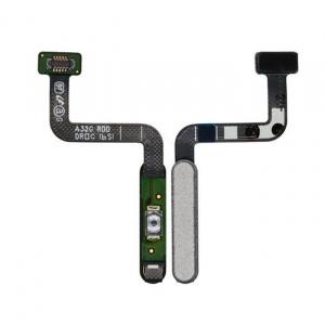 Flex de encendido y lector de huella para Samsung Galaxy A32 5G (2021) SM-A326B - Blanco