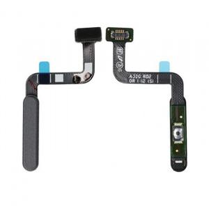 Flex de encendido y lector de huella para Samsung Galaxy A32 5G (2021) SM-A326B - Negro