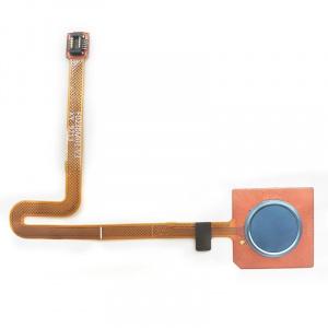 Flex con lector de huellas para LG Q60 – Azul