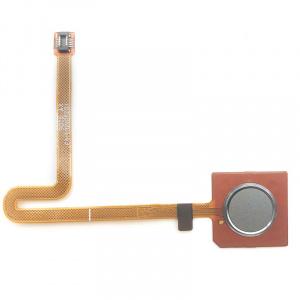 Flex con lector de huellas para LG Q60 – Gris