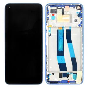 Pantalla display con marco para Xiaomi Mi 11 Lite, Mi 11 Lite (5G) – Azul