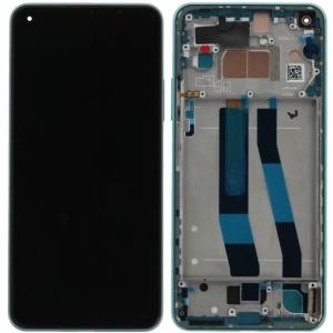 Pantalla display con marco para Xiaomi Mi 11 Lite, Mi 11 Lite (5G) – Verde