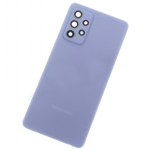 Tapa trasera para Samsung Galaxy A52 4G, A52 5G – Morado