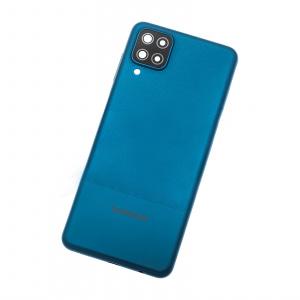 Tapa trasera para Samsung Galaxy A12, SM-A125F – Azul