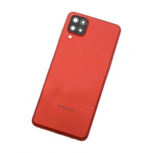 Tapa trasera para Samsung Galaxy A12, SM-A125F – Rojo